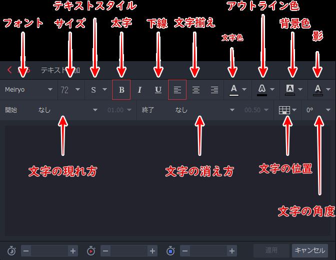 【GOM Mix Pro】文字装飾方法